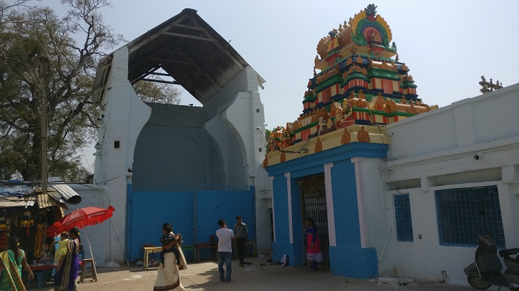 temple and the chariot house