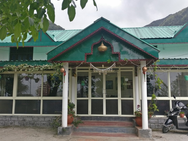 Dining Hall at Tatva from outside