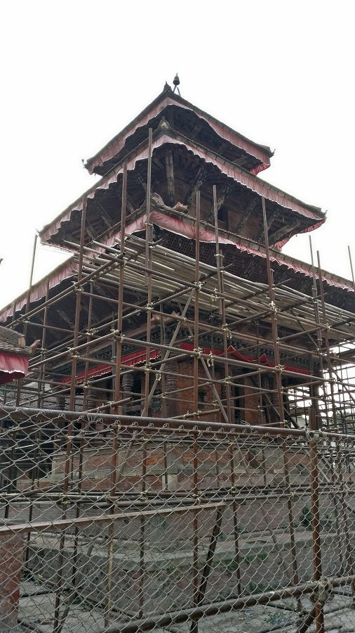 Renovation at Durbar Square mostly aided by China